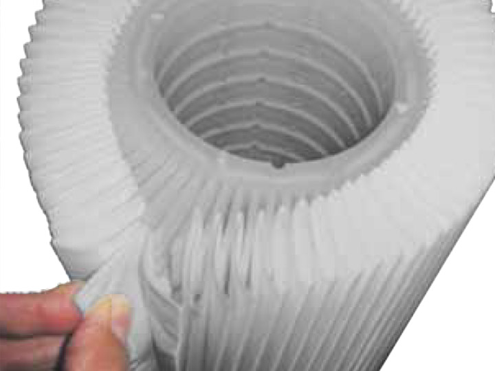 Pre-filtration or RO polishing filters